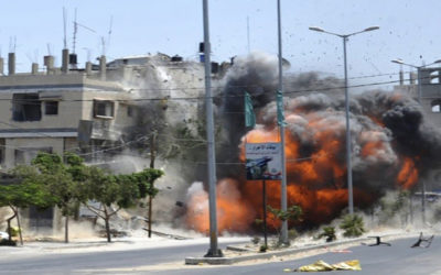 طائرات الاحتلال شنت أكثر من 100 غارة عنيفة شمال غزة وغربها