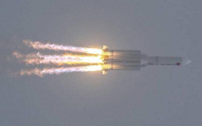 بكين : مخاطر الصاروخ الصيني الخارج عن السيطرة ضئيلة جدا