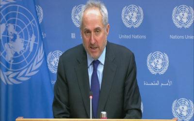 """المتحدث باسم الأمم المتحدة: غوتيريش حث """"إسرائيل"""" على ضبط النفس في القدس الشرقية ووقف الهدم"""