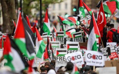 """مظاهرة """"مليونية"""" في واشنطن للدعوة الى معاقبة """"إسرائيل"""""""