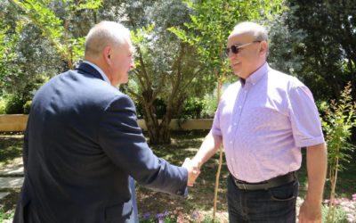 وهاب استقبل السفير الروسي في لبنان وأولم على شرفه