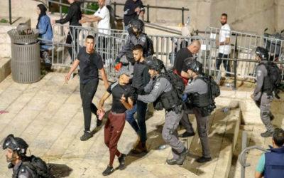 إصابة 106 فلسطينيين في مواجهات مع الاحتلال
