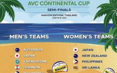 لبنان الى التصفيات الآسيوية الأولمبية في الطائرة الشاطئية بتايلاند