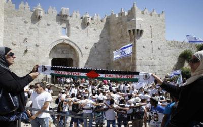 """""""حماس"""": مسيرة الأعلام غدا الثلاثاء صاعق انفجار لمعركة جديدة للدفاع عن القدس والمسجد الأقصى"""