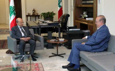 وهاب زار الرئيس عون وعرض معه التطورات الحكومية الأخيرة والموقف منها