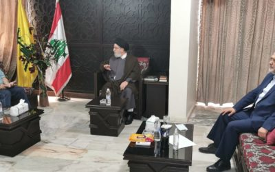 وهاب بعد زيارته السيد ابراهيم أمين السيد: إنتخاب رئيسي إنجاز تاريخي لإيران ولانتخاب حكومة جدية ليستفيد لبنان من التسوية الكبرى في المنطقة