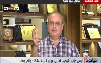 """وهاب لقناة """"سكاي نيوز"""" العربية: بدون تفاهم عربي على إدارة وإنقاذ لبنان لا استحالة لإنقاذه"""