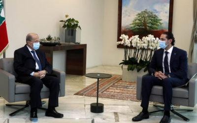"""معلومات """"الجديد"""": الحريري غدا في بعبدا لتقديم تشكيلة جديدة إلى رئيس الجمهورية"""