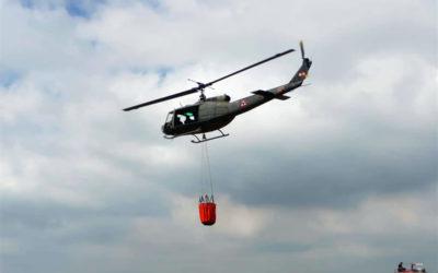 وحدات الجيش تواصل عمليات اخماد الحرائق المندلعة في القبيات وعندقت وجبل اكروم والجوار