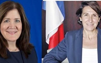 """""""الجمهورية"""": زيارة السفيرتين تؤشران الى خطوات تنفيذية اميركية – فرنسية بالشراكة مع السعودي"""