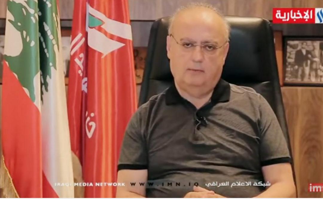 وهاب للعراقية الإخبارية: هناك خيار بتكليف أحد آخر بالإتفاق مع الحريري