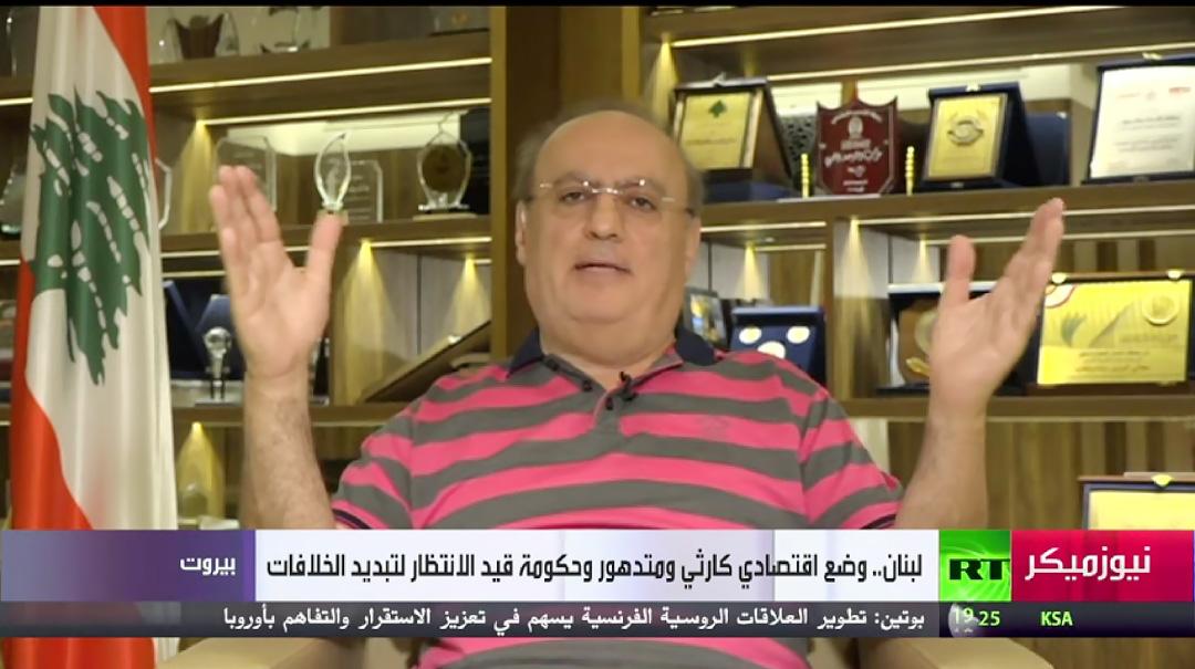 """وهاب لقناة """"روسيا اليوم"""": لا استقرار في لبنان دون الغطاء العربي وعودة الاستقرار الى سوريا"""