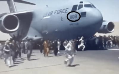 أشلاء بشرية بعجلات طائرة كابل…ورقم لافت على الطائرة