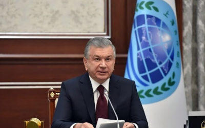 رئيس أوزبكستان دعا لرفع التجميد عن أصول أفغانستان في الخارج