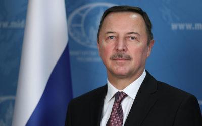 السفير الروسي لدى دمشق: من المستبعد التوصل لاستقرار طويل الأمد في سوريا بدون صيغ التسوية والحوار الداخلي