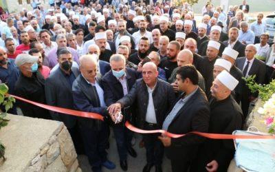 وهاب خلال افتتاح حديقة الشهيد محمد أبو ذياب: الخيار العربي وبوابته الشقيقة سوريا هي المخرج الوحيد للبنان