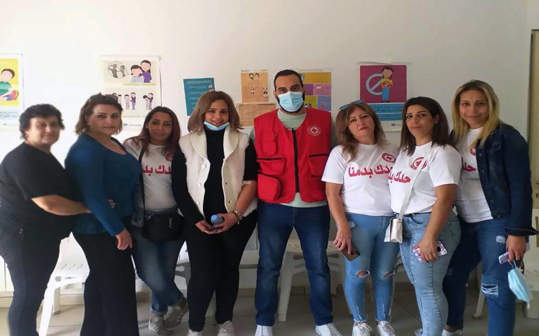 حملة تبرع بالدم لهيئة شؤون المرأة في حزب التوحيد العربي