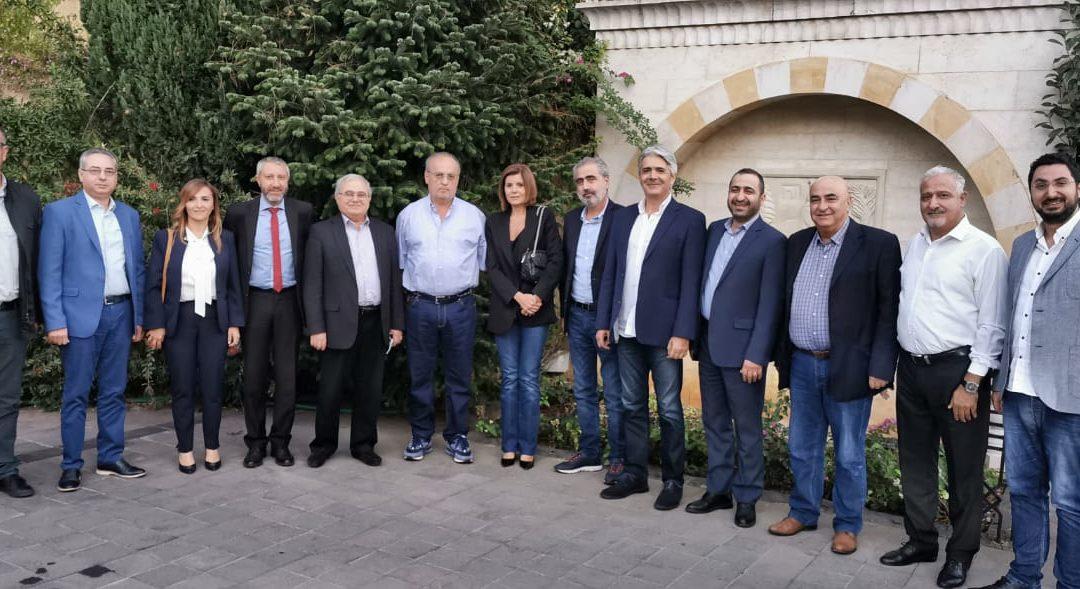 لقاء بين قيادتي التيار الوطني الحر والتوحيد العربي